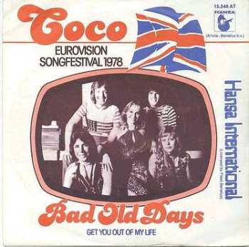 COCO - BAD OLD DAYS - HANSA Dutch P/S