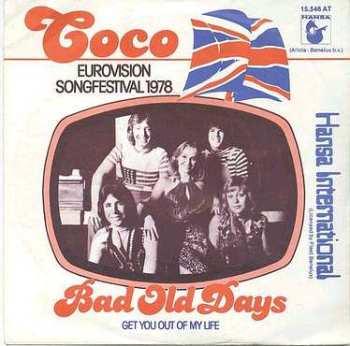 COCO - BAD OLD DAYS - HANSA Dutch P/S