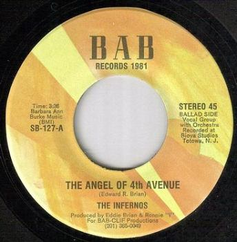 INFERNOS - THE ANGEL OF 4TH AVENUE - BAB