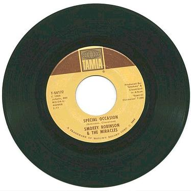 SMOKEY ROBINSON & MIRACLES - Special Occasion