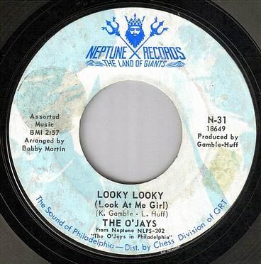 O'JAYS - LOOKY LOOKY - NEPTUNE