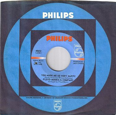 FLOYD MORRIS - YOU MADE ME SO VERY HAPPY - PHILIPS