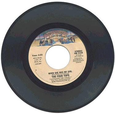 FOUR TOPS - When She was My Girl - Casablanca US