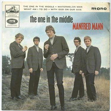 MANFRED MANN - THE ONE IN THE MIDDLE - HMV