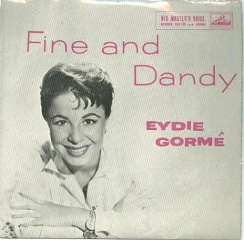 EYDIE GORME - FINE AND DANDY - :EP: