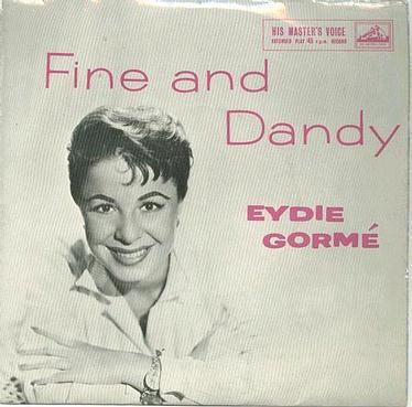 EYDIE GORME - FINE AND DANDY - :EP: