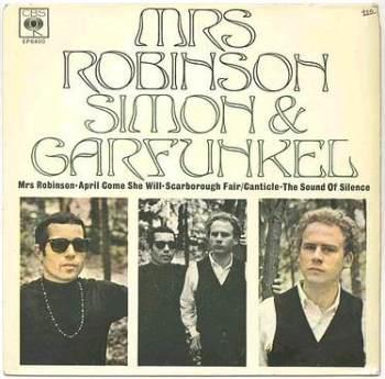 SIMON & GARFUNKEL - MRS ROBINSON - CBS