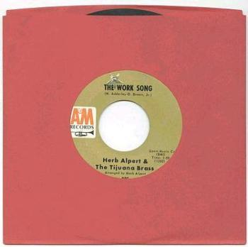 HERB ALBERT - THE WORK SONG - A&M
