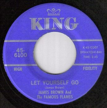 JAMES BROWN - LET YOURSELF GO - KING