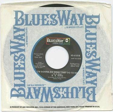 B.B.KING - I'M GONNA DO TO THEM - BLUESWAY