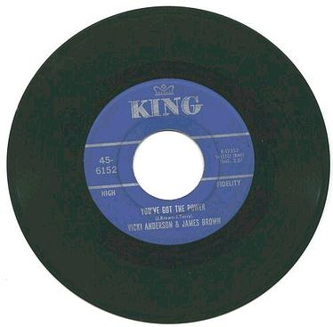 VICKI ANDERSON & JAMES BROWN - You've Got The Power - KING