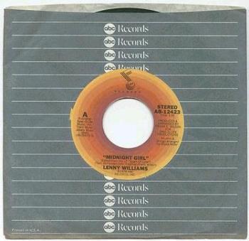 LENNY WILLIAMS - MIDNIGHT GIRL - ABC