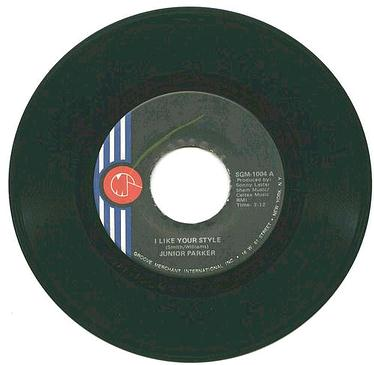 JUNIOR PARKER - I Like Your Style - G.MERCHANT