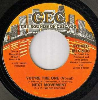 NEXT MOVEMENT - YOU'RE THE ONE - GEC