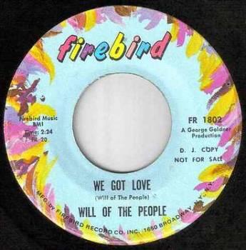 WILL OF THE PEOPLE - WE GOT LOVE - FIREBIRD dj