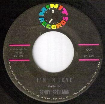 BENNY SPELLMAN - I'M IN LOVE - MINIT