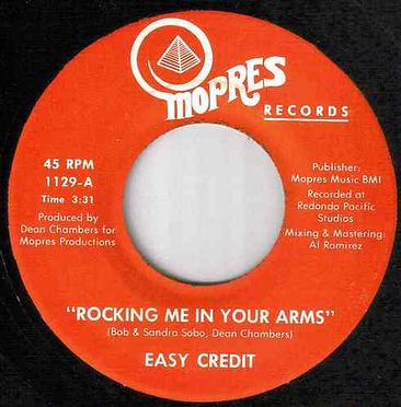 EASY CREDIT - ROCKING ME IN YOUR ARMS