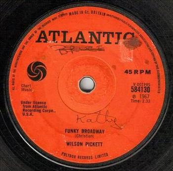 WILSON PICKETT - FUNKY BROADWAY - UK ATLANTIC