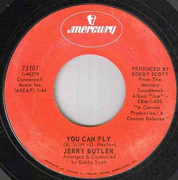 JERRY BUTLER - YOU CAN FLY - MERCURY