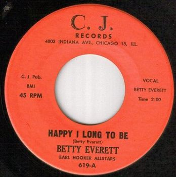 BETTY EVERETT - HAPPY I LONG TO BE - CJ