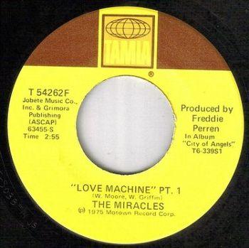 MIRACLES - LOVE MACHINE - TAMLA : US
