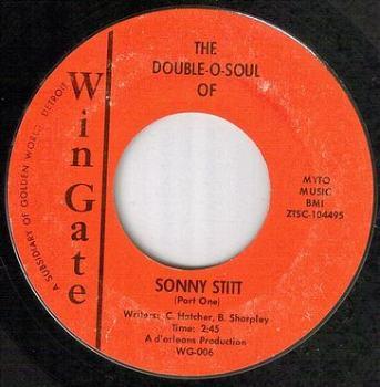 SONNY STITT - THE DOUBLE O SOUL OF - WINGATE orig
