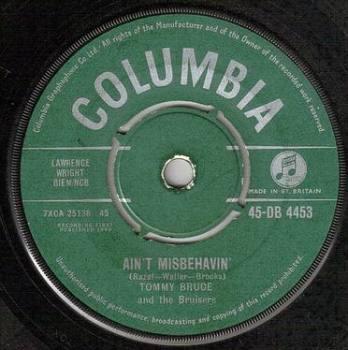 TOMMY BRUCE - AIN'T MISBEHAVIN' - COLUMBIA