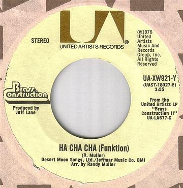BRASS CONSTRUCTION - HA CHA CHA - UA