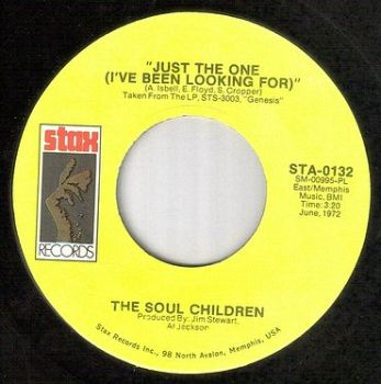 SOUL CHILDREN - JUST THE ONE I'VE BEEN LOOKING FOR