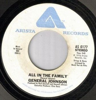 GENERAL JOHNSON - ALL IN THE FAMILY - ARISTA