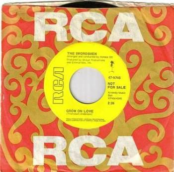 SWORDSMEN - GROW ON LOVE - RCA dj