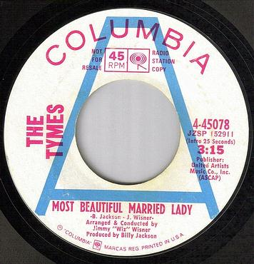 TYMES - LOVE CHILD / MARRIED LADY - COLUMBIA dj