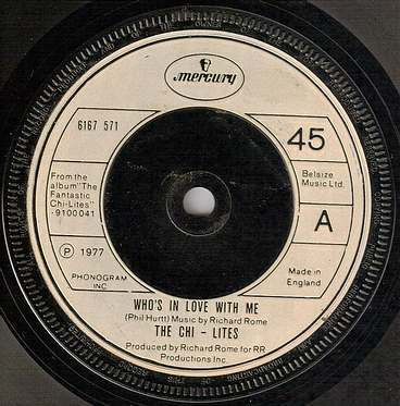 CHI-LITES - WHO'S IN LOVE WITH ME - UK MERCURY