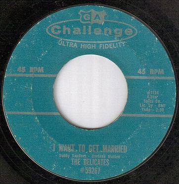 DELICATES - I WANT TO GET MARRIED - CHALLENGE