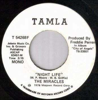 MIRACLES - NIGHT LIFE - TAMLA dj