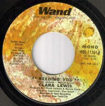 CLARA LEWIS - NEEDING YOU - WAND dj