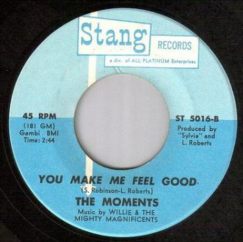 MOMENTS - YOU MAKE ME FEEL GOOD - STANG