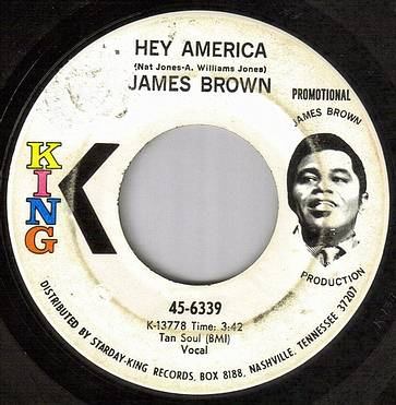 JAMES BROWN - HEY AMERICA - KING dj