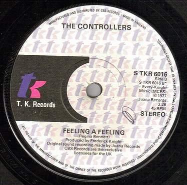 CONTROLLERS - FEELING A FEELING - UK TK