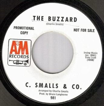 C.SMALLS & CO - THE BUZZARD - A&M dj