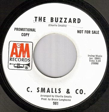 C.SMALLS & CO - THE BUZZARD - A&M dj