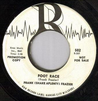 FRANK FRAZIER - FOOT RACE - R dj