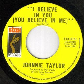 JOHNNIE TAYLOR - I BELIEVE IN YOU - STAX