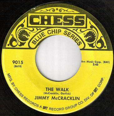 JIMMY McCRACKLIN - THE WALK - CHESS