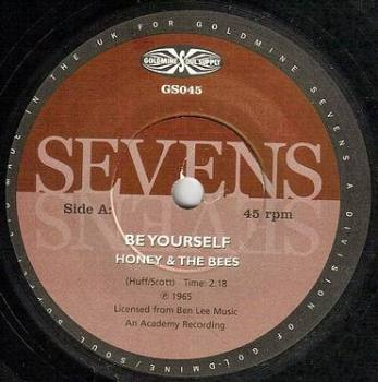 HONEY & THE BEES - BE YOURSELF - GOLDMINE