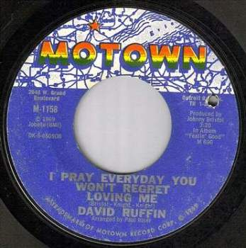 DAVID RUFFIN - I PRAY EVERYDAY - MOTOWN