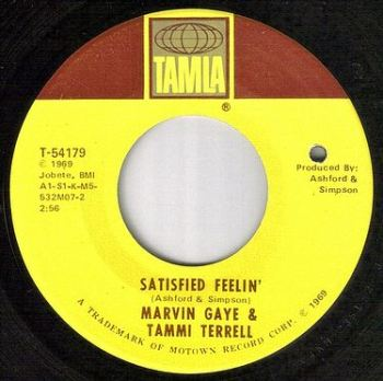 MARVIN & TAMMI - SATISFIED FEELIN' - TAMLA