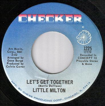LITTLE MILTON - LET'S GET TOGETHER - CHECKER
