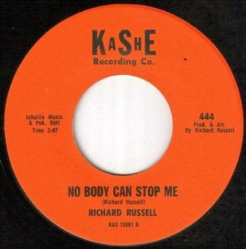 RICHARD RUSSELL - NO BODY CAN STOP ME - KASHE