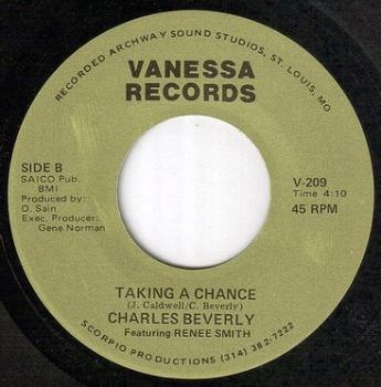 CHARLES BEVERLY - TAKING A CHANCE - VANESSA